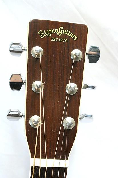 vintage sigma dr 7 acoustic guitar c f martin co reverb. Black Bedroom Furniture Sets. Home Design Ideas