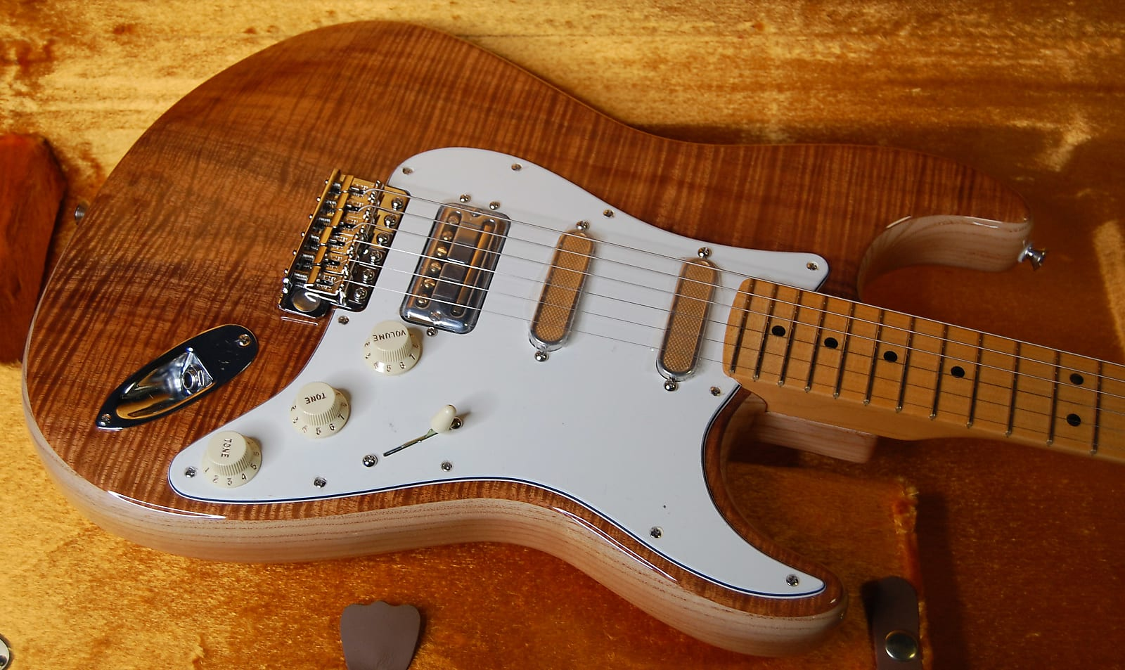NEW! Fender Rarities USA Flame Koa Top Stratocaster - Authorized Dealer - Pre-Order!