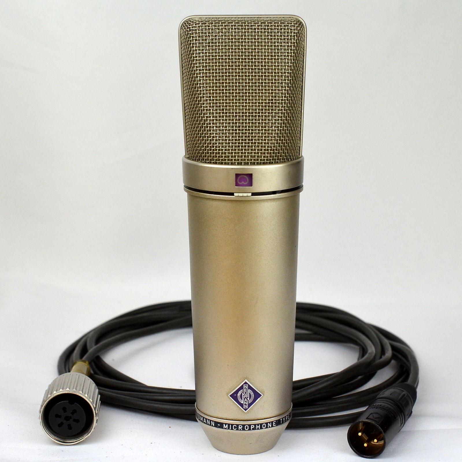 vintage neumann u 87 condenser microphone reverb. Black Bedroom Furniture Sets. Home Design Ideas