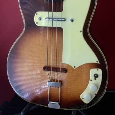 Kay 1950'S PRO BASS 1950'S TEABAG for sale