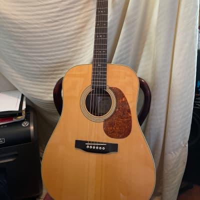 johnson jd 16 acoustic guitar. see details natural for sale