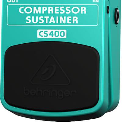 New Behringer CS400 Compressor Sustainer Guitar Effects Pedal