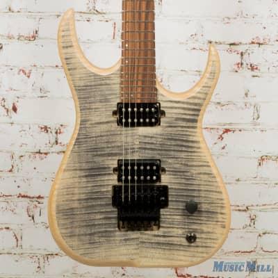 Skervesen Raptor 6 Electric Guitar Satin Flame Maple Top w/ Case (USED) for sale