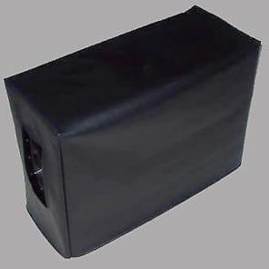 Black Vinyl Cover for Seismic Audio Luke 2x12V Vintage Speaker Extension Cab (seis016)