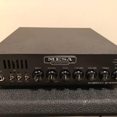 Mesa Boogie Subway D-800 Lightweight 800-Watt Bass Amp Head with Bag + Free Shipping