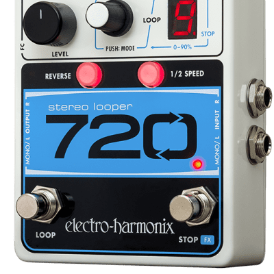 New Electro-Harmonix EHX 720 Stereo Recording Looper Guitar Effects Pedal! image