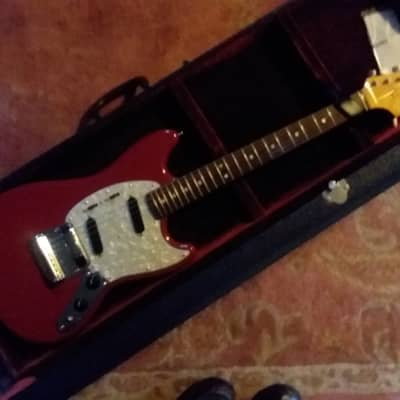 MINT 2007 FENDER Mustang Electric Guitar '65 RI Reissue CIJ MIJ Japan With Hard Fender Case for sale