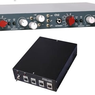 Vintech Audio 273 & PSU  - Stereo Microphone Preamp, Simple EQ, w/ Power Supply - Based on Neve 1073