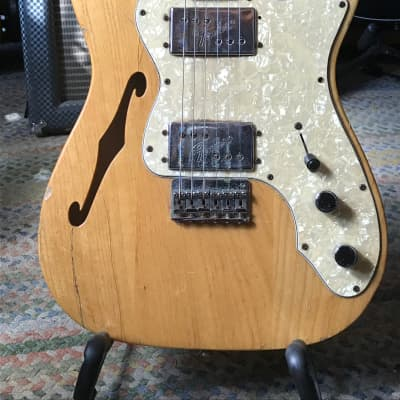 Fender '72 Thinline Telecaster Reissue 2003 Natural Relic 2003 Natural for sale