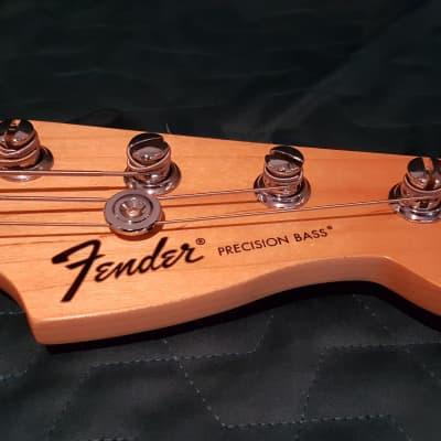 Fender Standard Precision Bass 2014 Black/Maple Neck for sale