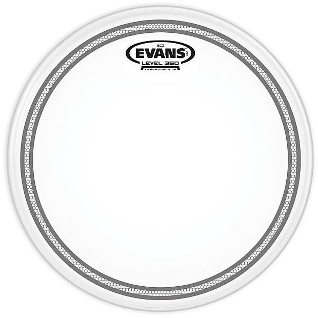evans ec2 coated super tough 14 snare drum head damm reverb. Black Bedroom Furniture Sets. Home Design Ideas