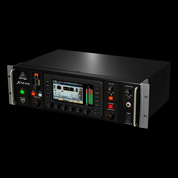 behringer x32 rack 40 input channel 25 bus digital rack mixer reverb. Black Bedroom Furniture Sets. Home Design Ideas