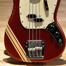 Fender Mustang Bass 1969 Competition Red image