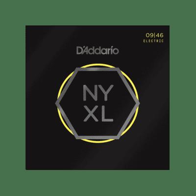D'Addario NYXL0946 Nickel Wound, Super Light Top / Regular Bottom, 09-46