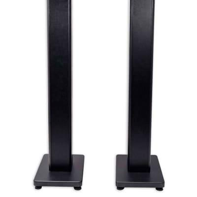 "(2) Rockville 28"" Studio Monitor Speaker Stands For Genelec 8050B Monitors"