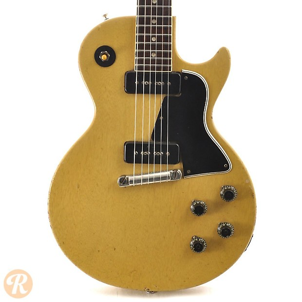 gibson les paul special 1957 tv yellow price guide reverb. Black Bedroom Furniture Sets. Home Design Ideas