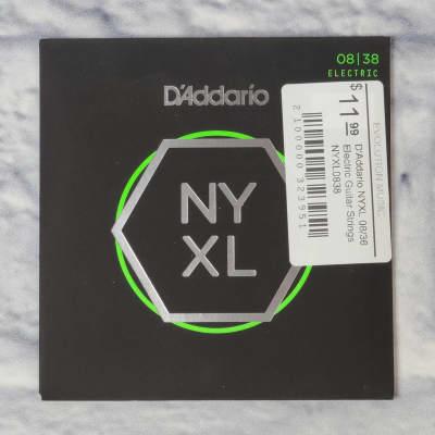 D'Addario NYXL 08/36 Electric Guitar Strings NYXL0838