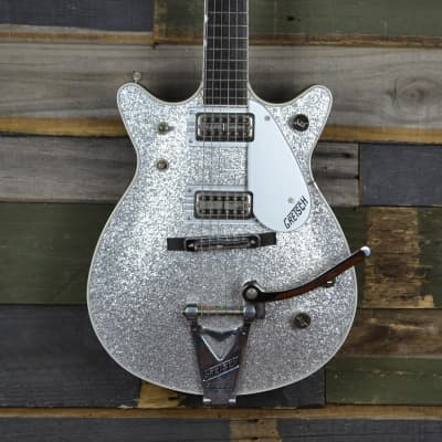 Gretsch Silver Jet 6129-62T  2000 Silver Sparkle for sale