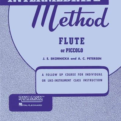 Rubank Intermediate Method, Flute Piccolo