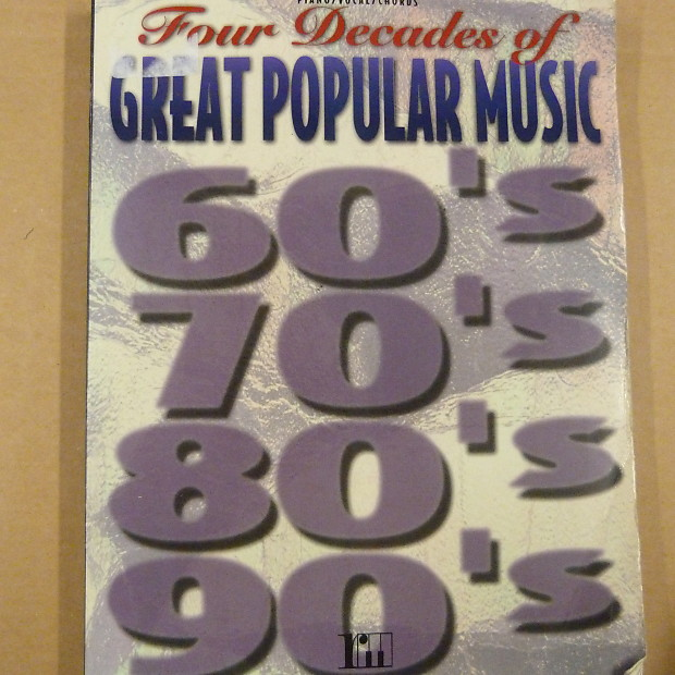 Songbook Four Decades Of Great Popular Music 60s 70s 80s 90s Reverb