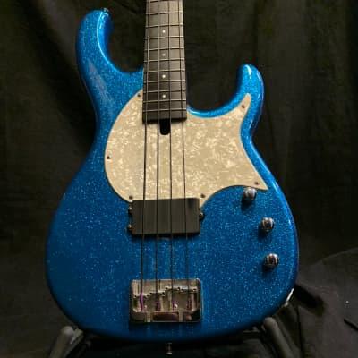 Modulus FB4 Flea Bass  2007 Blue Sparkle for sale