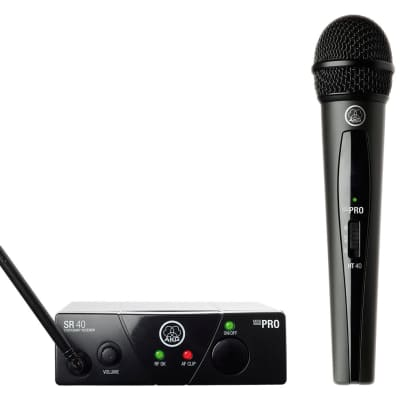 AKG WMS40VSA Mini Vocal Wireless Mic Set - Band A