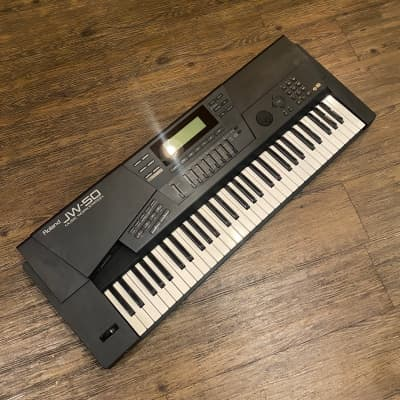 Roland JW-50 Keyboard synthesizer 61-key -GrunSound-w956-