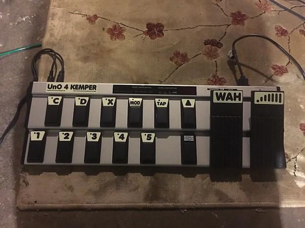 Kemper Profiler Amp Head Powered Rack Mount w/ Un0 4 Kemper FCB1010