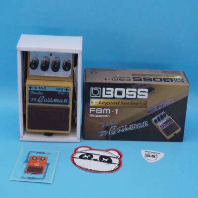 Boss FBM-1 Fender Bassman Overdrive Pedal w/Original Box | Fast Shipping!