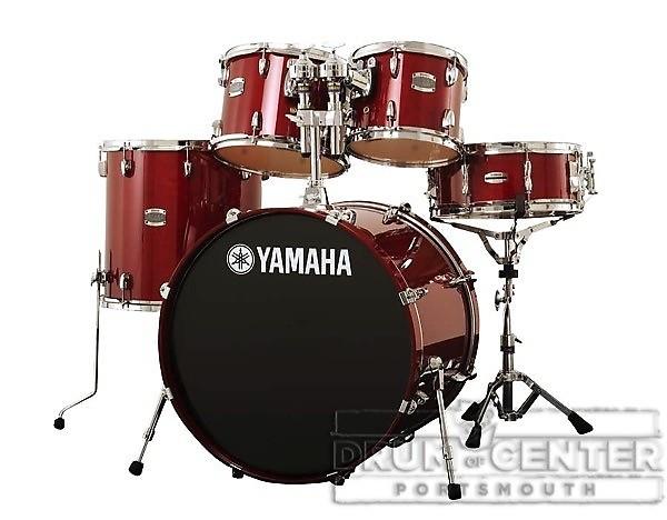 Yamaha Stage Custom Birch 5pc Drum Set W 22 Bd Reverb