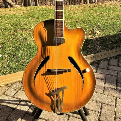 Musima  Archtop 1958 Spruce/Maple  760J 'FrankenBacker' Jazz-Faux for sale
