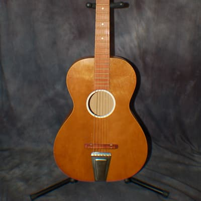 1965 Chris Adjustable Neck Guitar Guldan-Jackson 3/4 Parlor Great Action All Original USA for sale
