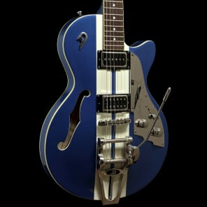 Duesenberg Mike Campbell Heartbreaker Starplayer TV Lake Placid Blue (2013, MINT, never played!) for sale