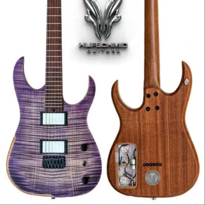 Hufschmid Tantalum 6 Flame top 2019 Purple flame burst for sale