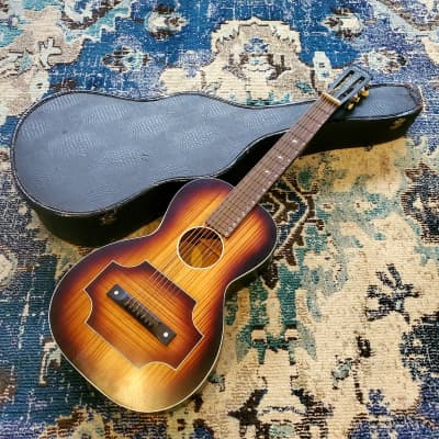 1933 Regal - More Harmony - 7-String Hawaiian Lap Steel Square Neck Slide Parlor Guitar for sale