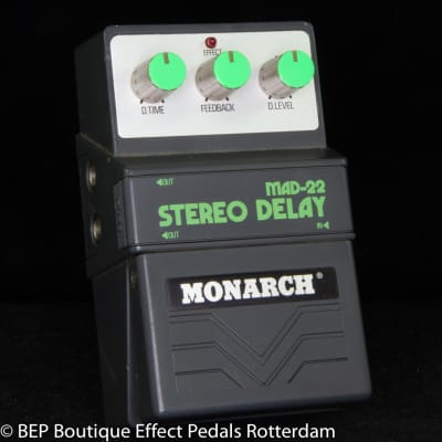 Monarch MAD-22 Stereo Delay 80's s/n 146119 Japan