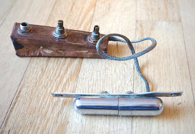 1960 danelectro lipstick pickup wiring harness cts reverb. Black Bedroom Furniture Sets. Home Design Ideas