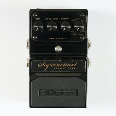 Digitech Supernatural Ambient Verb - Made in USA for sale