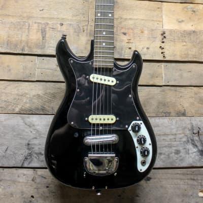 CMI E200 Vintage Black Electric Guitar for sale