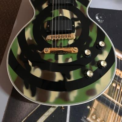 Gibson Zakk Wylde Les Paul Custom #ZPW195 (CAMO) for sale