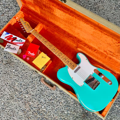 Fender Cunetto Relic Custom Shop '51 Nocaster John Cruz Stamp 1997 Sea Foam Green for sale