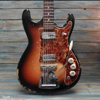 Vintage Kapa Challenger 1960s Sunburst for sale