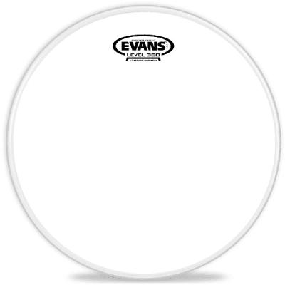 "Evans B10G1RD Power Center Reverse Dot Drum Head - 10"""