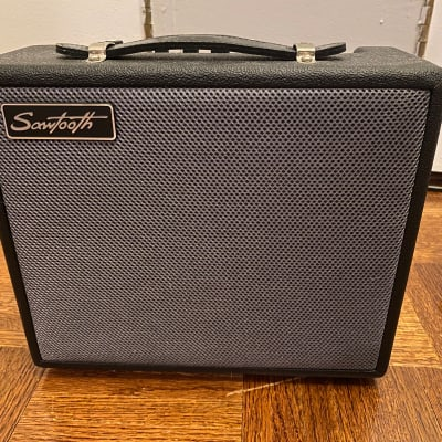 Sawtooth ST-AMP-10 Black Guitar Amp + 10ft Instrument Cable for sale