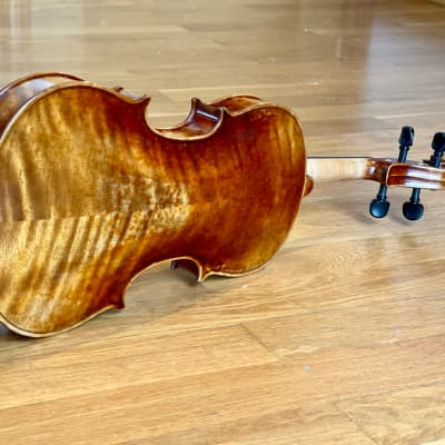 Finely Hand Made 4/4 Violin after Stradivari 1716 Messiah Violin Open Sound with case