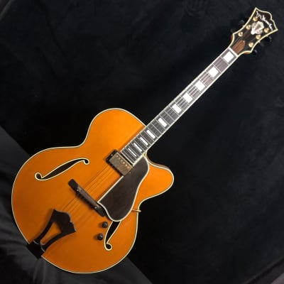 McKerrihan Custom Blonde Archtop Guitar for sale