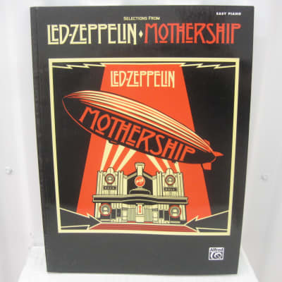 Led Zeppelin Selections from Mothership Easy Piano Sheet Music Song Book Songbook