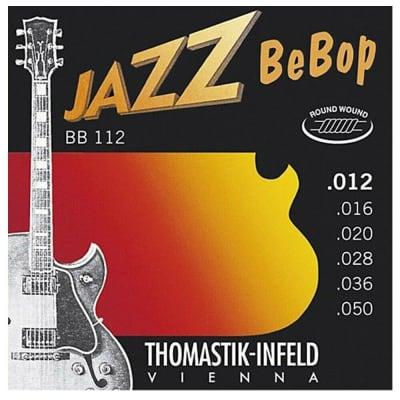 Thomastik-Infeld Jazz BeBop Acoustic/Electric Jazz Guitar Strings Light 12 - 50