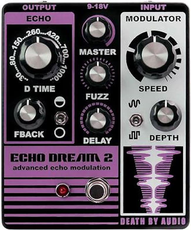 Death By Audio Echo Dream Delay 2 *Free Shipping in the USA*