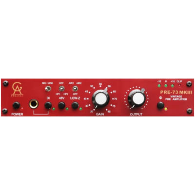 Golden Age Project Pre73 MKIII Microphone Preamp